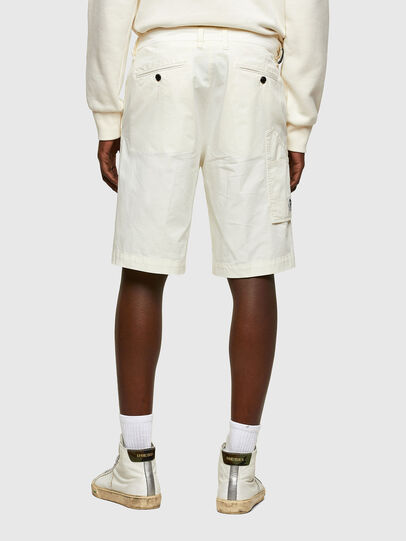 Diesel - P-HATY, Bianco - Shorts - Image 2