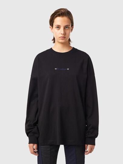 Diesel - T-BLONG, Nero - T-Shirts - Image 1
