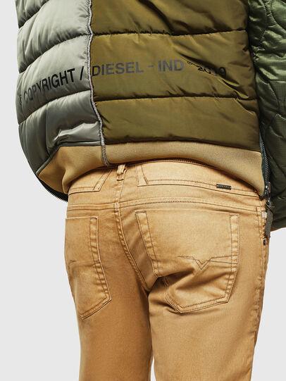 Diesel - D-Bazer 0091T, Marrone Chiaro - Jeans - Image 4