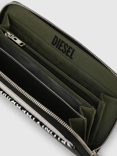Diesel - 24 ZIPOCKET, Nero - Portafogli Con Zip - Image 3