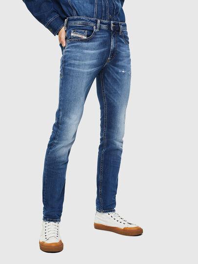 Diesel - Thommer 0097W, Blu Scuro - Jeans - Image 1