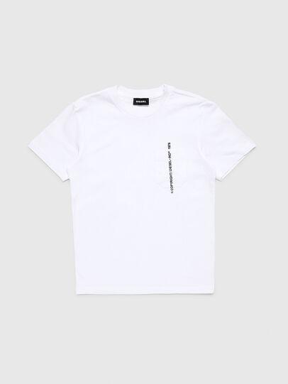 Diesel - TJUSTPOCKETCOPY, Bianco - T-shirts e Tops - Image 1