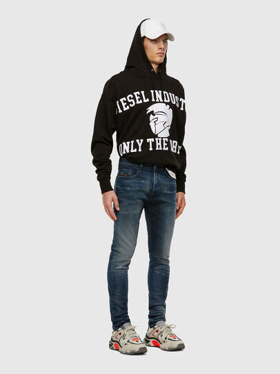 Diesel - Tepphar 009FL, Blu medio - Jeans - Image 6