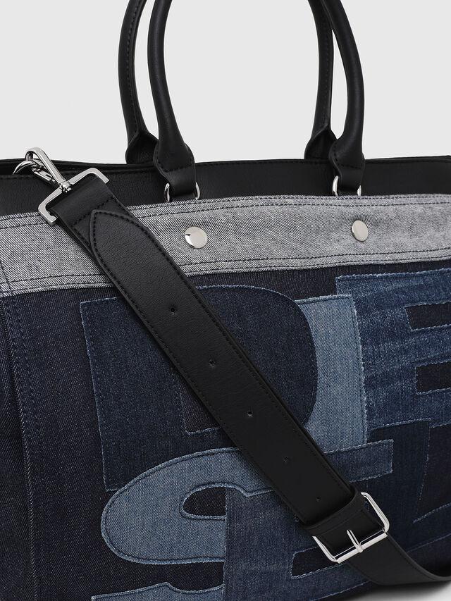 Diesel - F-DESTAR SHOPPER M, Blu Jeans - Shopper e Borse a Spalla - Image 3
