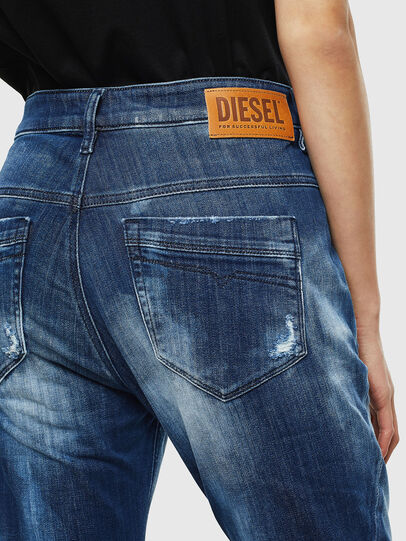 Diesel - Fayza JoggJeans 0099S, Blu Scuro - Jeans - Image 5