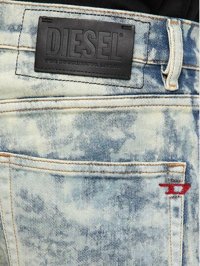 Diesel - D-Strukt 009FM, Blu Chiaro - Jeans - Image 4