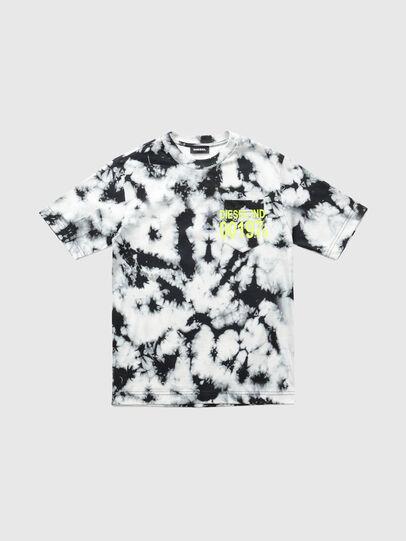 Diesel - TJUSTJ23 OVER, Nero - T-shirts e Tops - Image 1
