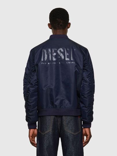 Diesel - J-ROSS-REV-A, Blu Scuro - Giacche - Image 2
