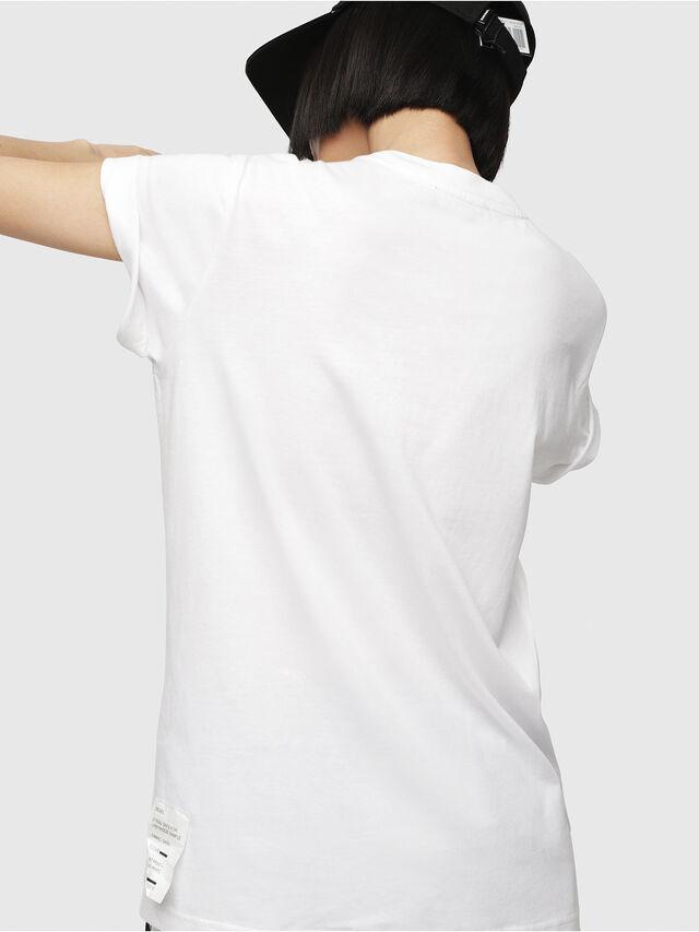 Diesel - T-DARIA-G, Bianco - T-Shirts - Image 2