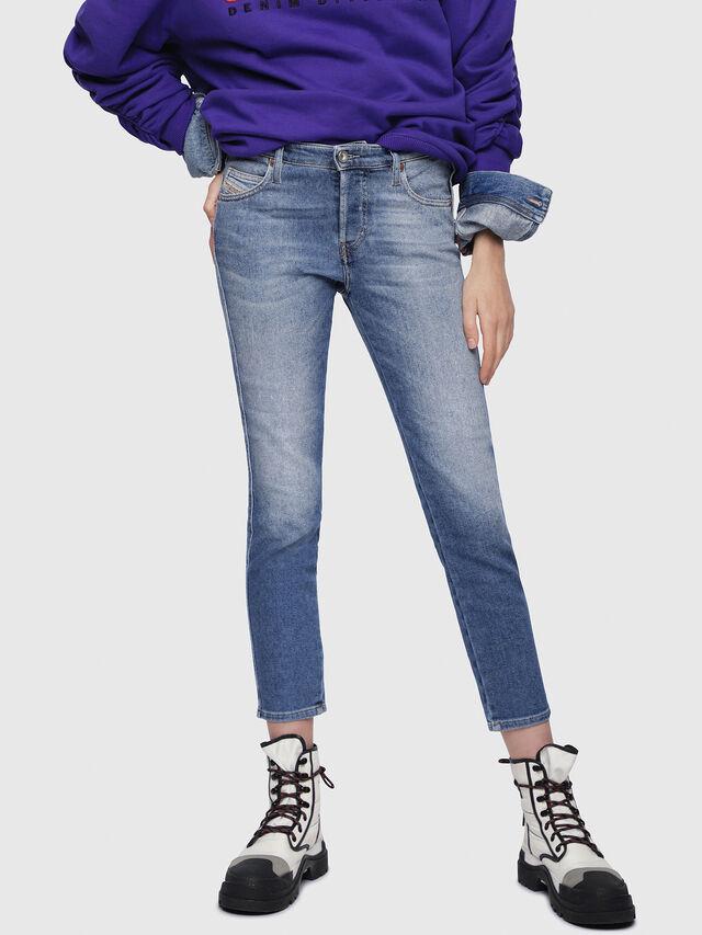 Diesel - Babhila 084PR, Blu medio - Jeans - Image 1