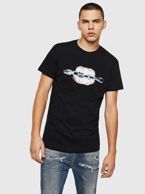 T-DIEGO-B10, Nero - T-Shirts