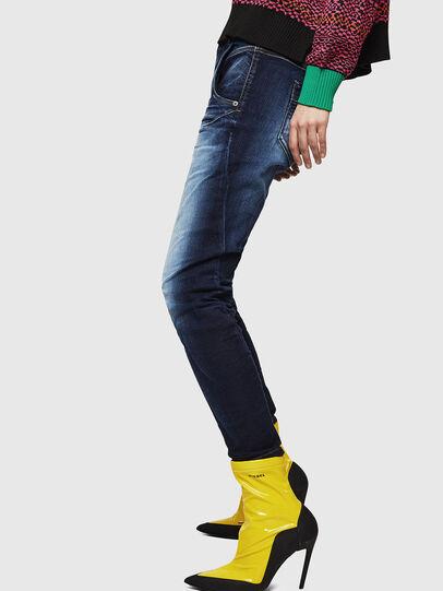 Diesel - Fayza JoggJeans 069IE, Blu Scuro - Jeans - Image 5