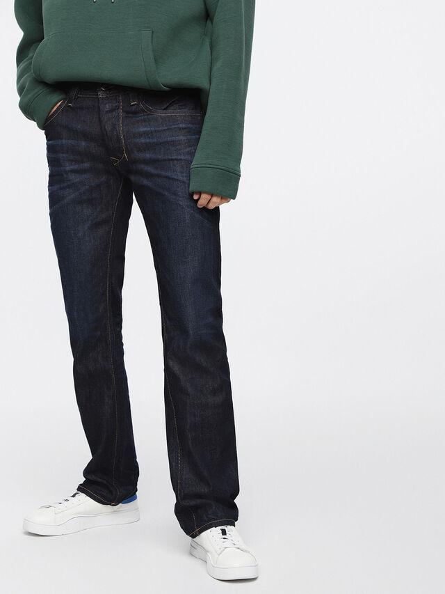 Diesel - Larkee 0806W, Blu Scuro - Jeans - Image 1