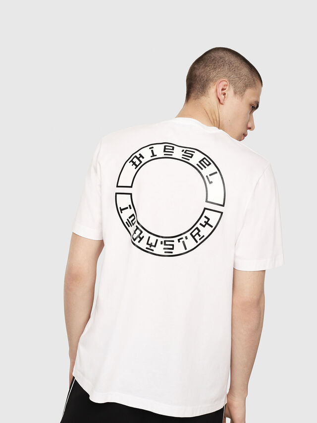Diesel - T-JUST-Y13, Bianco - T-Shirts - Image 2