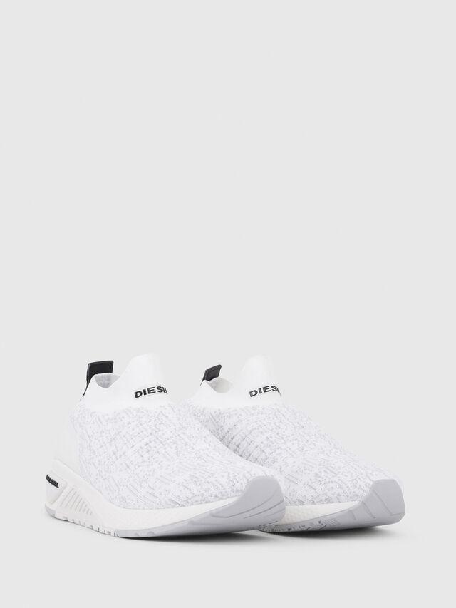 Diesel - S-KB ATHL SOCK, Bianco - Sneakers - Image 2