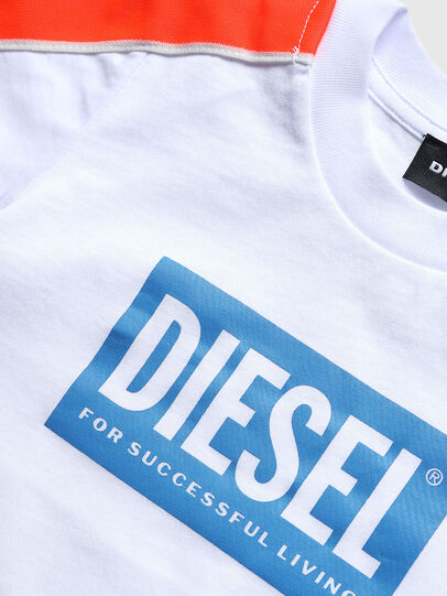 Diesel - TANGEB-R, Bianco - T-shirts e Tops - Image 3