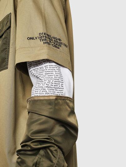 Diesel - S-KOSOV, Verde Militare - Camicie - Image 3