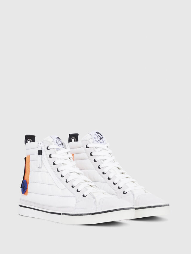 Diesel - D-VELOWS MID PATCH, Multicolor/Bianco - Sneakers - Image 2