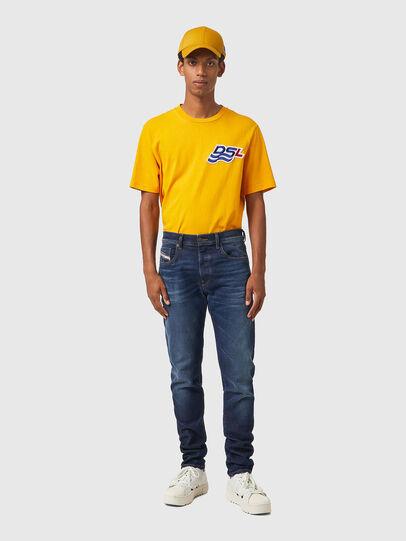 Diesel - D-Strukt JoggJeans® 069XG, Blu Scuro - Jeans - Image 5