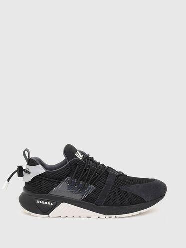 Sneaker senza lacci in tessuto mesh e Lycra