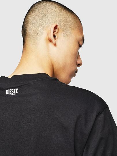 Diesel - T-LUCAS-NML-B1, Nero - T-Shirts - Image 4