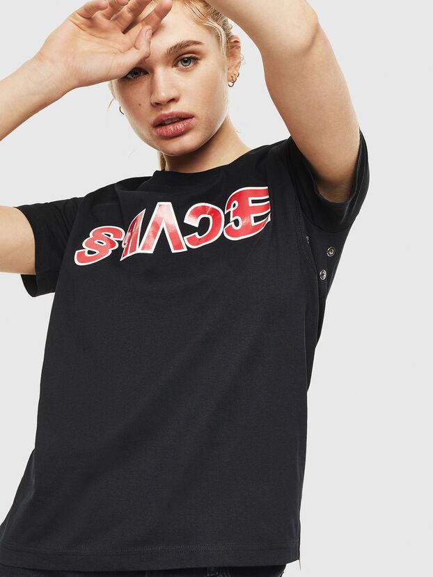 T-SILY-WO, Nero - T-Shirts