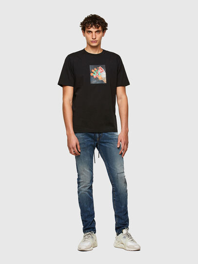 Diesel - Thommer JoggJeans® 069SZ, Blu Scuro - Jeans - Image 5