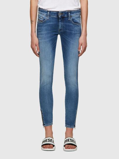 Diesel - Slandy Low 069ST, Blu Chiaro - Jeans - Image 1