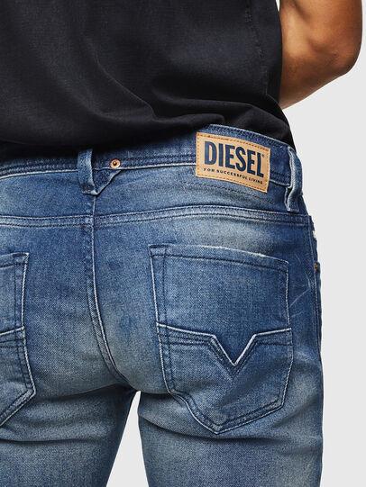 Diesel - Larkee 0090D, Blu medio - Jeans - Image 5