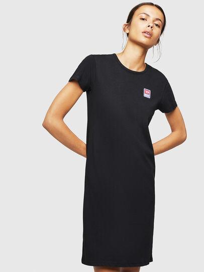 Diesel - UFLT-ISOLLA, Nero - T-Shirts - Image 1