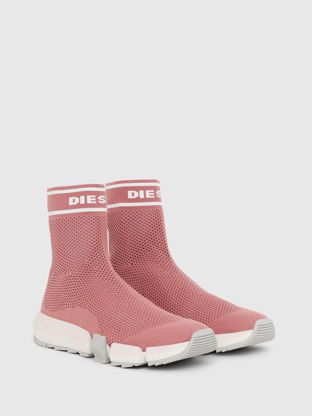 Diesel - H-PADOLA NET W, Rosa - Sneakers - Image 2