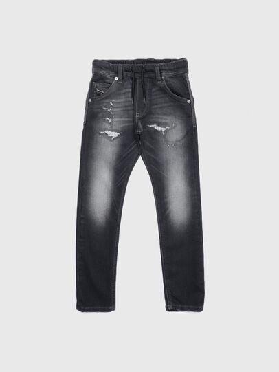Diesel - KROOLEY-J JOGGJEANS, Nero/Grigio scuro - Jeans - Image 1