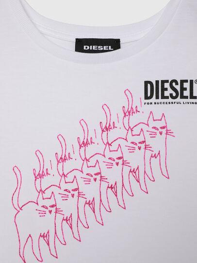Diesel - TLOPPIB-R, Bianco - T-shirts e Tops - Image 3