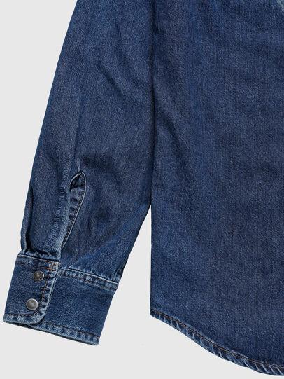 Diesel - US-D-EAST-P, Blu medio - Camicie in Denim - Image 6