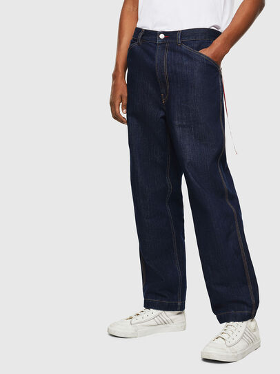 Diesel - CC-D-FRANK, Blu Scuro - Pantaloni - Image 1