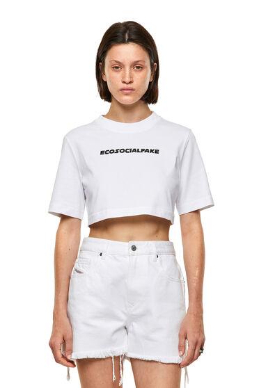 T-shirt Green Label con ricamo