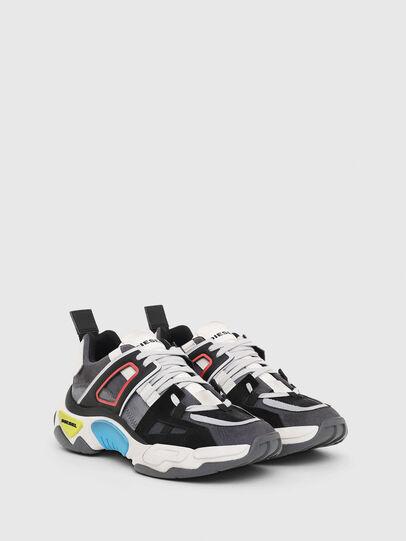 Diesel - S-KIPPER LOW TREK II, Grigio/Bianco - Sneakers - Image 2