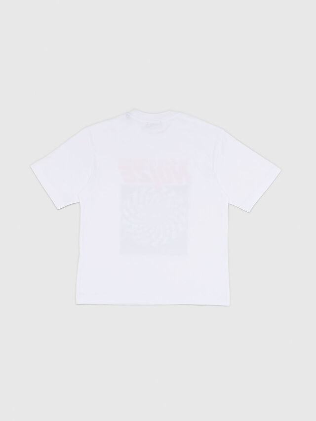 Diesel - TWALLACE OVER, Bianco - T-shirts e Tops - Image 2