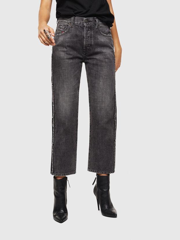 Aryel 0096I, Nero/Grigio scuro - Jeans