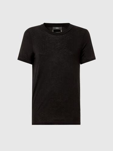 T-shirt in viscosa di bambù