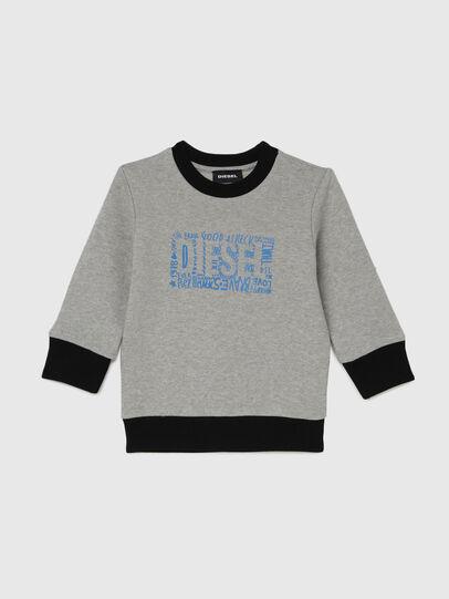 Diesel - SALLOB-R, Grigio - Felpe - Image 1