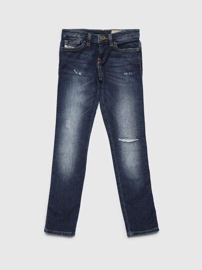 Diesel - SKINZEE-LOW-J JOGGJEANS-N, Blu medio - Jeans - Image 1