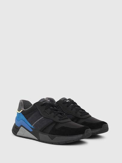 Diesel - S-BRENTHA FLOW, Nero/Blu - Sneakers - Image 2
