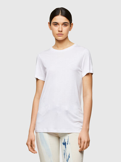 Diesel - T-SILY-A8, Bianco - T-Shirts - Image 1