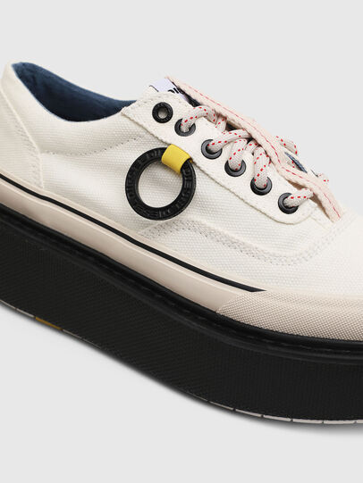 Diesel - H-SCIROCCO LOW, Bianco/Rosa - Sneakers - Image 4