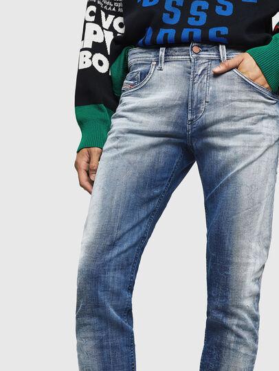 Diesel - Thommer JoggJeans 0870N, Blu medio - Jeans - Image 3