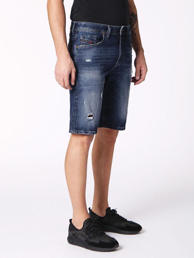 Diesel - THOSHORT, Blu Jeans - Shorts - Image 3