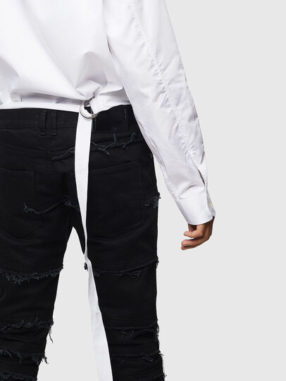 Diesel - S-PATCH-P, Bianco - Camicie - Image 4