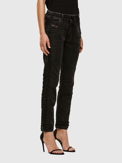 Diesel - Krailey JoggJeans 009FY, Nero/Grigio scuro - Jeans - Image 5