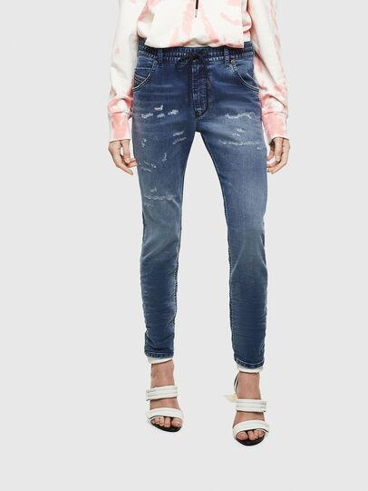 Diesel - Krailey JoggJeans 069LW, Blu Scuro - Jeans - Image 1